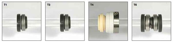Виды механических уплотнения на насосы Argal ZMA
