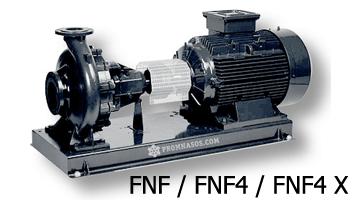 Центробежные насосы для чистой воды ESPA серии FNF, FNF4 и FNF4 X - консольная конструкция