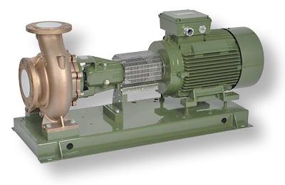 Центробежные насосы для чистой воды SAER - консольная конструкция