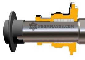 сальниковое уплотнение винтового насоса Varisco Vulcan 12-003