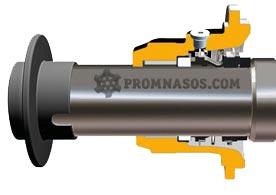 одинарное механическое уплотнение шнекового насоса Varisco Vulcan